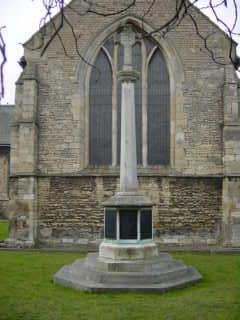 Cenotaph at Winterton