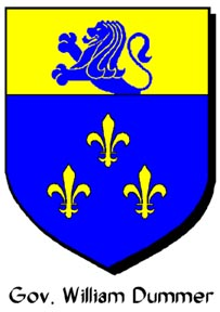 Arms used by Gov. Wm. Dummer